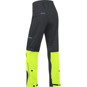 GORE WEAR C3 Gore-Tex Active Pantalones Hombre, black/neon yellow